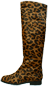 Mobile Preview: Leostiefel aus Fell by Petruska - Damenstiefel mit Animalprint