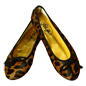 Preview: Leo-Look Ballerinas Colombo by Petruska - Fell Damenschuhe im Leolook