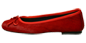 Preview: Ballerinas Schuhe Rot Miramichi by Petruska - Fell Damenschuhe