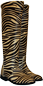 Mobile Preview: Zebra Stiefel Animalprint - Boots Serengeti by Petruska