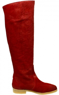 Rote Stiefel St.Petersburg by Petruska - Fellboots in Rot