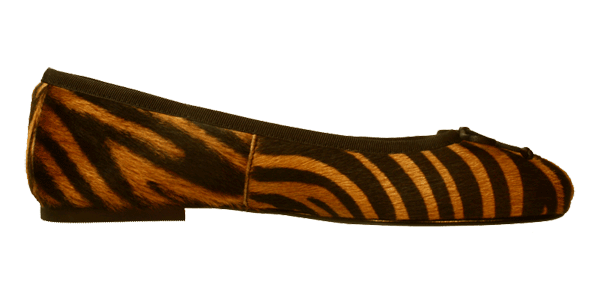 Tiger Ballerina Schuhe Amur by Petruska - Exclusive Fell Damenschuhe