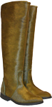 Stiefel in Gruen aus Fell-Boots Auckland by Petruska